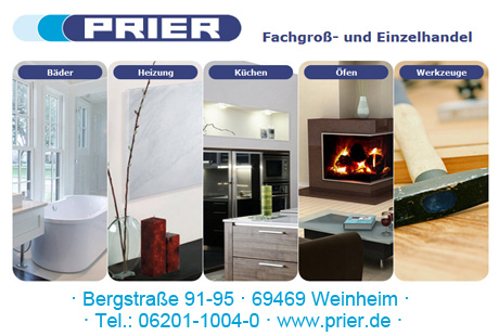 prier gmbh b der heizung k chen in weinheim im. Black Bedroom Furniture Sets. Home Design Ideas