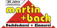 Kundenlogo Dachdeckerei Martin + Bach
