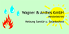 Kundenlogo von Heizung-Sanitär-Solar Wagner & Anthes GmbH