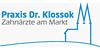 Kundenlogo von Klossok Thomas Dr.med.dent. Zahnarztpraxis