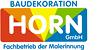 Kundenlogo von Malerfachbetrieb Horn GmbH