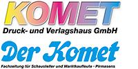 Kundenlogo Druckerei Komet