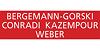 Kundenlogo von Bergemann-Gorski, Conradi, Kazempour,  Weber, Rechtsanwälte