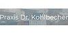 Kundenlogo von Kohlbecher Roland Dr.