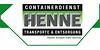 Kundenlogo von CONTAINERDIENST HENNE