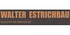 Kundenlogo von Estrich-Walter-Lebus