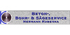 Kundenlogo von Beton-, Bohr- & Sägeservice Hermann Kubenka