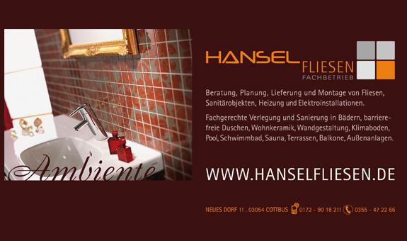 Hanselfliesen Mirko Hansel - Meisterbetrieb