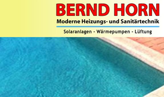 HORN BERND OHG