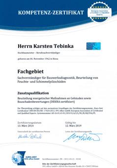 Bausachverständigenbüro Tebinka & Partner