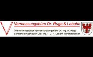 Bild zu Vermessungsbüro Dr. Ruge & Lebahn in Schwarzheide