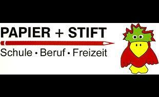 Logo von Papier + Stift - Bücher und mehr Bastelmaterial Andrea Böhlke